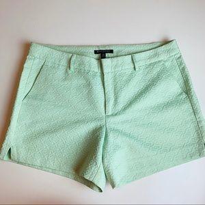 Banana Republic Mint color shorts. Size 10.